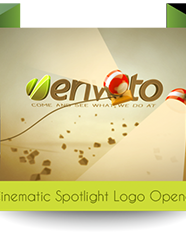 Cinematic Spotlight Logo Opener